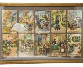 62. Vintage Illustrated Ten Commandments