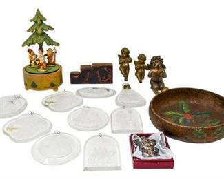 66. Grouping of Christmas Decorations