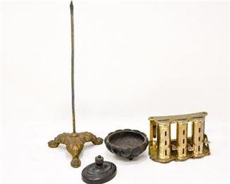 83. Mixed Lot Decorative Metal Collectibles