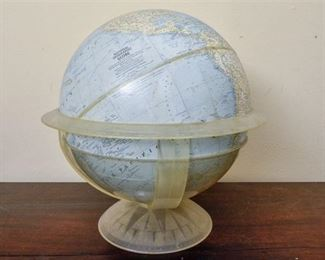 99. Vintage National Geographic Globe with Stand