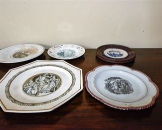 105. Grouping of Dishes with Genre Motifs