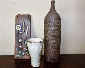 106. Three Decorative Pieces Including Ystad