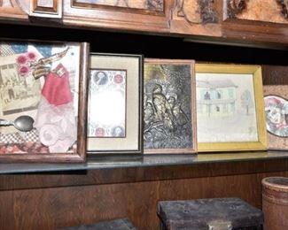 136. Antique Decorative Pieces of Art