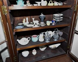 142. Generous Grouping of Vintage Dishes and Glass