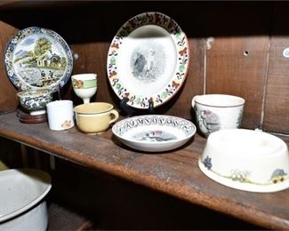 148. Grouping of Ceramic Dishes