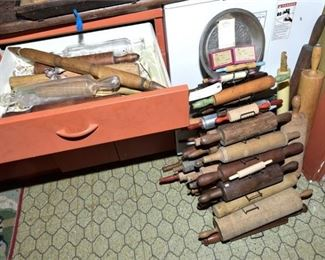 165. Generous Collection of Rolling Pins