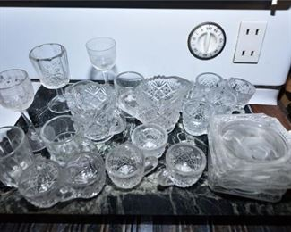 172. Collection of Cut Glassware