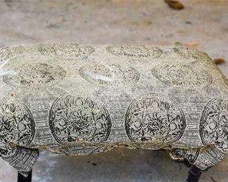 180. Upholstered Footstool