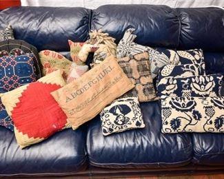 181. Mixed Collection Contemporary Vintage Throw Pillows