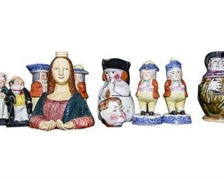 183. Ceramic Figurines and Novelty Dishware