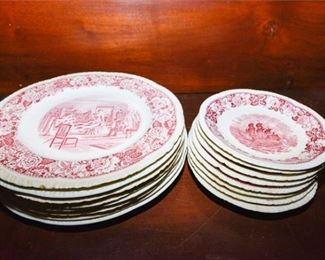 194. Mixed Lot English Decorator Plates Dishes