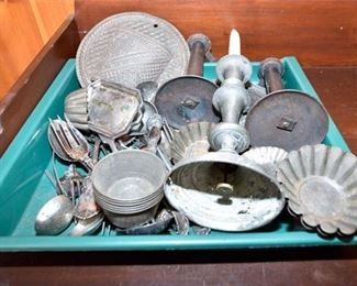 214. Large Mixed Collection Vintage Kitchen Utensils Accessories