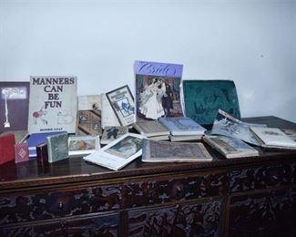 222. Mixed Lot Antique Victorian BooksPamphlets