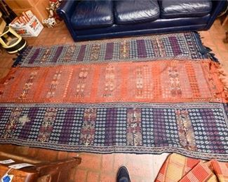221. Nice Large Hand Woven Middle Eastern Area Rug