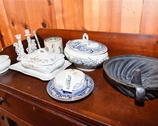 242. Nice Collection of Antique English Ceramics