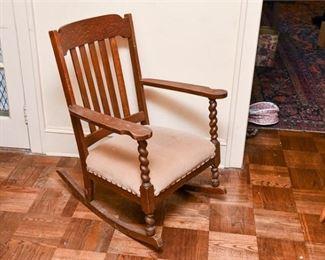 278. Vintage Oak Rocking chair