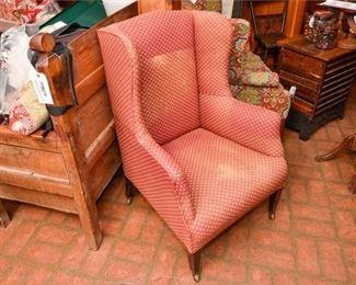 281. Vintage Federal Style Armchair