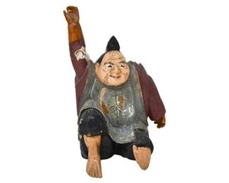 296. Vintage Chinese Ceramic Figure