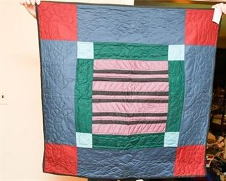 331. Pennsylvannia Hand Made BlanketThrow