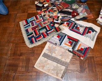 349. Patchwork Quilting Sections Pieces