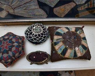 351. Victorian Era SewingPin Cushions