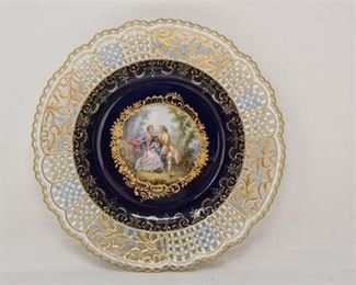 4. Fine Antique English MISSEN Decorative Plate