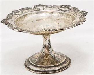 10. Antique GORHAM Sterling Silver Center Compote Dish