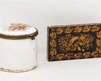 26. Antique 19th Century Trinket Box Card Case