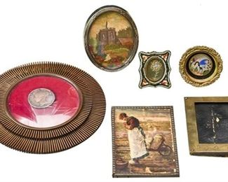 44. Nice Assortment of Antique Picture Frames