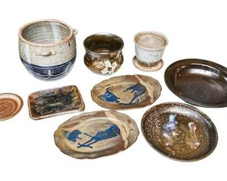 61. Nice Mix of Artisan Pottery Pieces