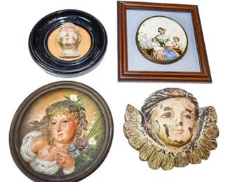 72. Antique Decorative Wall Plaques BRADLEY HUBBARD