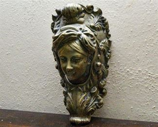 112. Cast Bronze Door Decoration