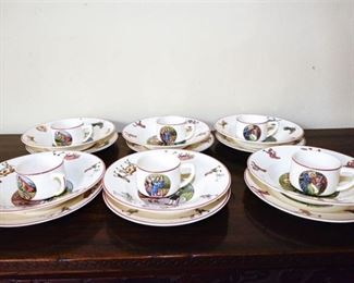 117. Set of Villeroy Boch Fairy Tale China