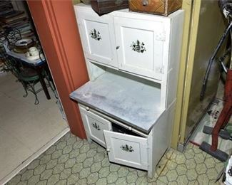 152. Unusual Small Hoosier Kitchen Cabinet Unit