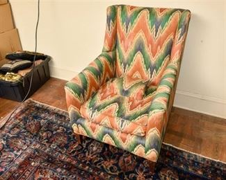 224. Upholstered Fireside Chair