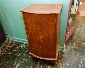 232. Mahogany Sheet Music Cabinet