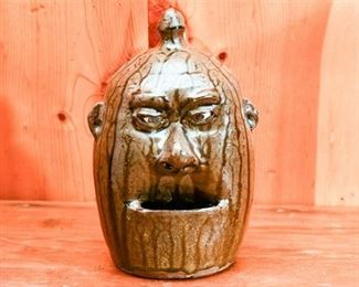 246. CLEATER MEADERS c.1984 Grotesque Ceramic Face Jug