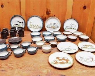 270. Group of Animal Theme Decorated Ceramics
