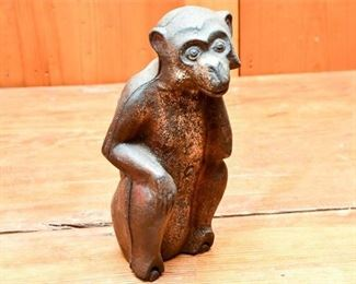 272. Cast Iron Figure of a Monkey