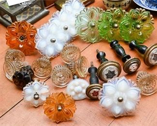 295. Selection Antique and Vintage Curtain Tiebacks