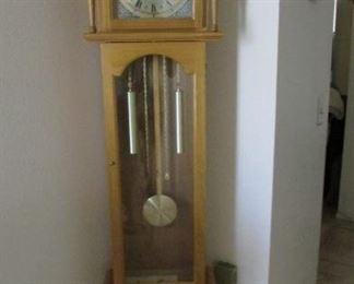 Small grandfather  clock