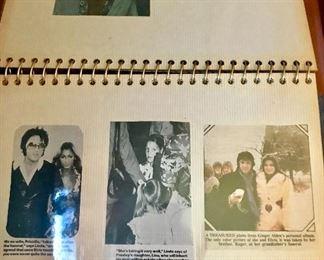 """Elvis"" scrap book"