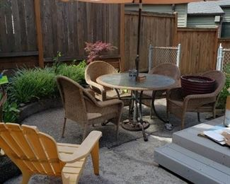 Out Door Furniture Table Chairs