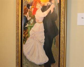 Reproduction Renoir painting