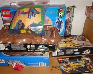 Lego, Lego Star Wars, Lego Soccer