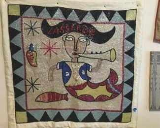 Haitian Voo Doo Flag