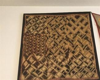 KUBA African woven sampler