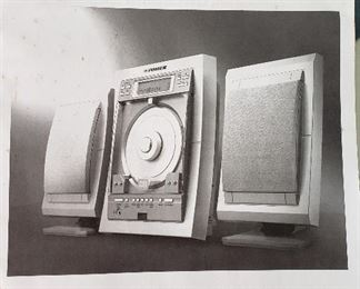 Fisher audio system