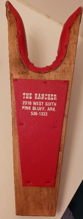 boot jack THE RANCHER, Pine Bluff, AR