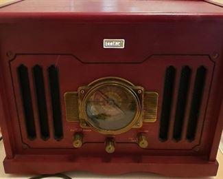 LeeTac radio, phono